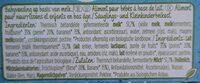 Naturnes bio - Ingredients - fr