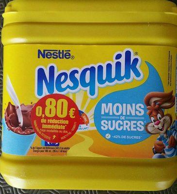 Nesquik Moins de sucre Nestlé   calories et informations nutritionnelles df3a415315f
