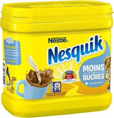 NESQUIK Moins de Sucres Poudre Cacaotée boîte - Prodotto - fr