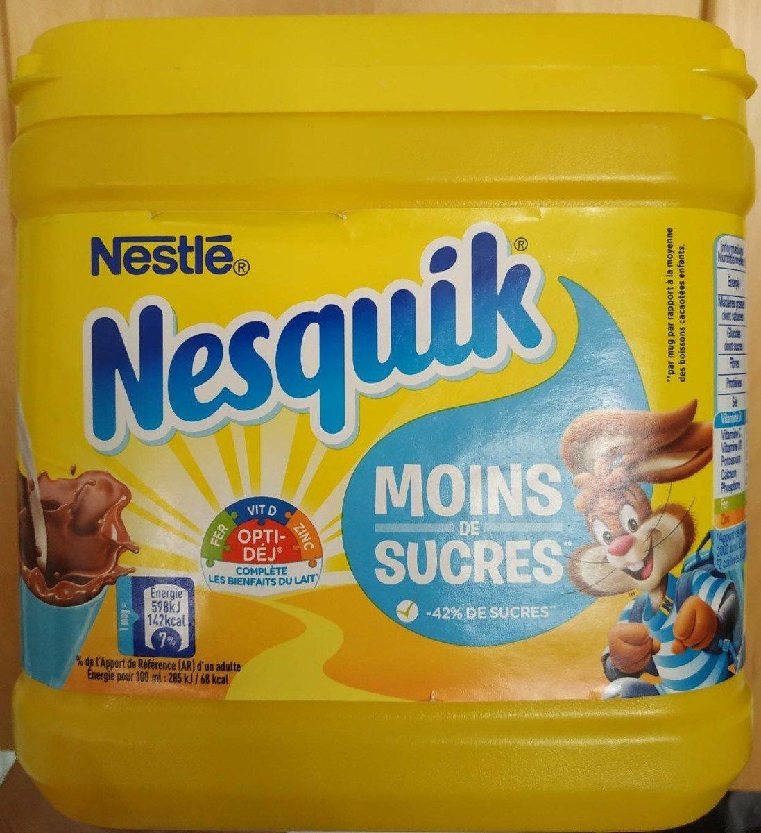 Nesquik moin de sucre - Produit