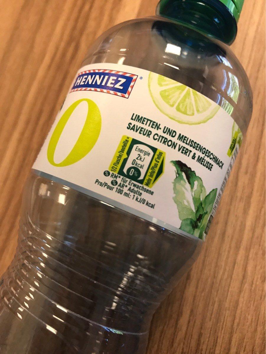 Saveur citron vert & mélisse - Produit