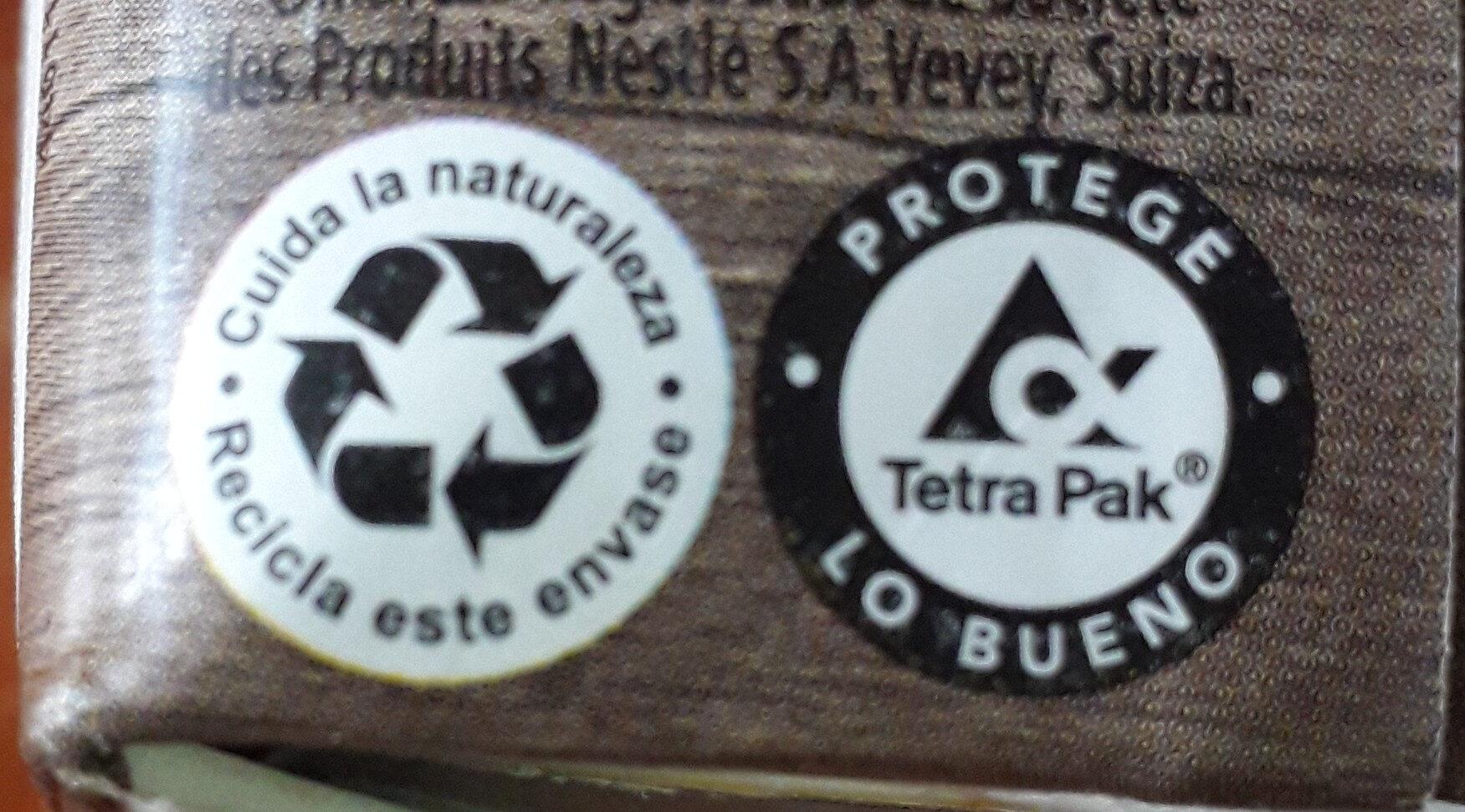 leche condensada - Instruction de recyclage et/ou informations d'emballage - es