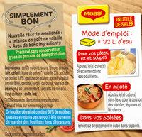 Bouillon Kub degraissé volaille - Ingrediënten - fr