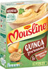 MOUSLINE Purée quinoa et pommes de terre - 2 sachets de 3/4 personnes - Produit