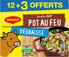 MAGGI Bouillon KUB Pot-au-feu Dégraissé x12+3 cubes Offerts - Produit