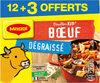 MAGGI Bouillon KUB Bœuf Dégraissé x12+3 cubes Offerts - Product