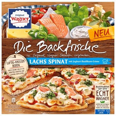 Die Backfrische Lachs Spinat - Product