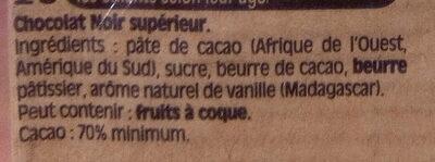 NESTLE DESSERT Noir Absolu 3x170g - Ingredienti - fr
