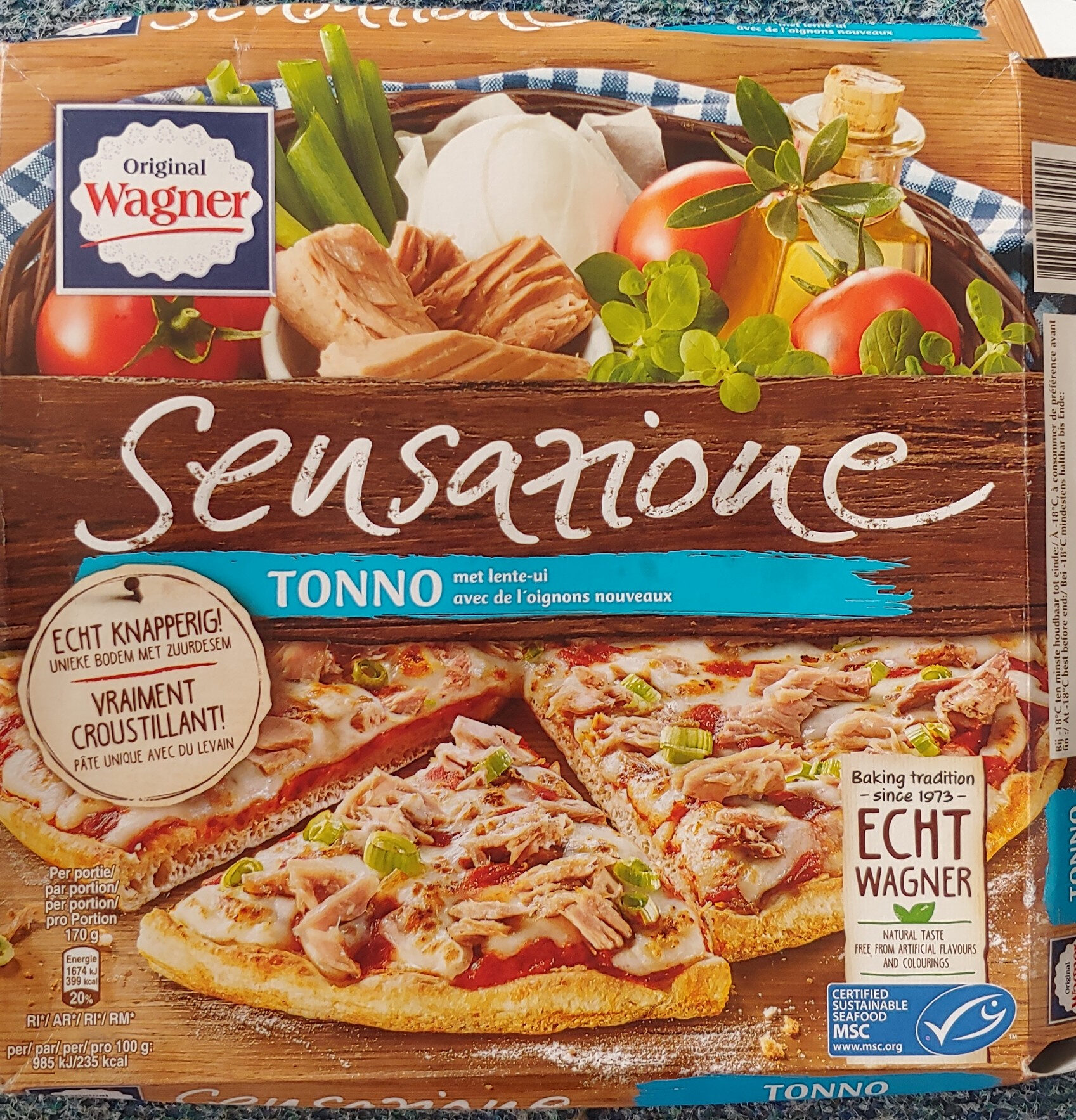 sensationale tonijn pizza - Product - nl