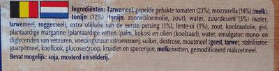 sensationale tonijn pizza - Ingrediënten - nl