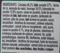 Chocapic ChocoCrush - Ingredients
