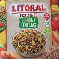 Ensalada de Quinoa y Lentejas - Product