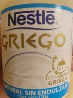 yogurt griego - Produit - es