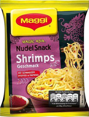 Nudel Snack Shrimps - Produkt - de