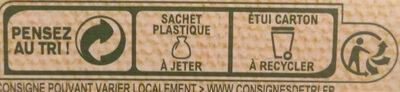 MOUSLINE Purée Bio Nature - Istruzioni per il riciclaggio e/o informazioni sull'imballaggio - fr