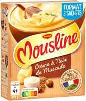 MOUSLINE Purée Crème Muscade 3x125g - Produit - fr