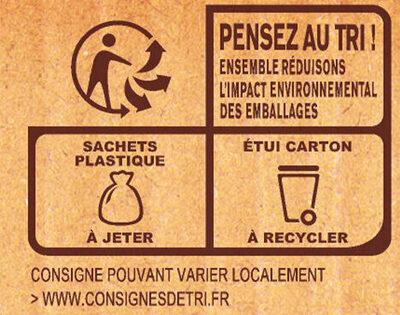 MOUSLINE Purée Crème Muscade 3x125g - Instruction de recyclage et/ou informations d'emballage - fr