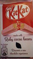 KitKat aux fèves de cacao Ruby - Produit - fr