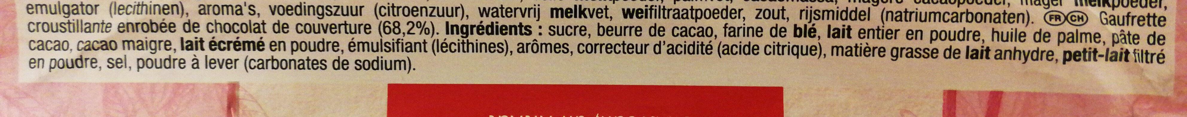 KitKat aux fèves de cacao Ruby - Ingrédients - fr