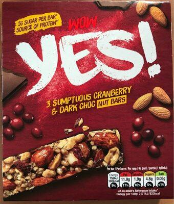 YES! Cranberries et Chocolat Noir - Product