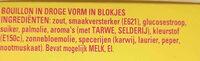 Maggi bouillon blokjes - Ingredients - nl