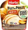HERTA Filet de poulet rôti cons.sans nitrite - Product