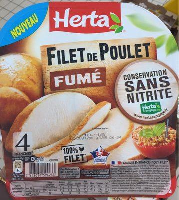 Filet de poulet fumé sans nitrite - Produit - fr