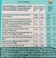 Flat White - Voedingswaarden - fr