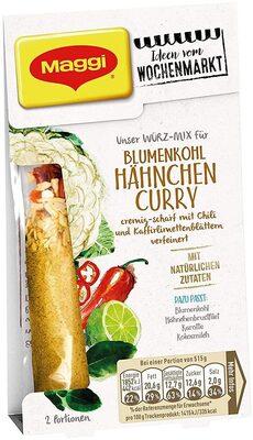 Blumenkohl Hähnchen Curry - Produit - de