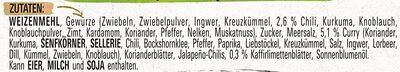 Blumenkohl Hähnchen Curry - Ingrédients - de