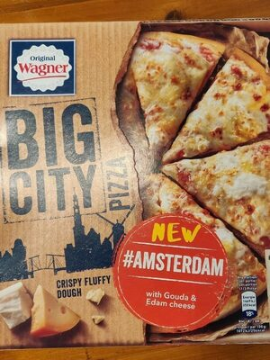 BIG CITY Pizza: Inspired by Amsterdam - Produkt - de
