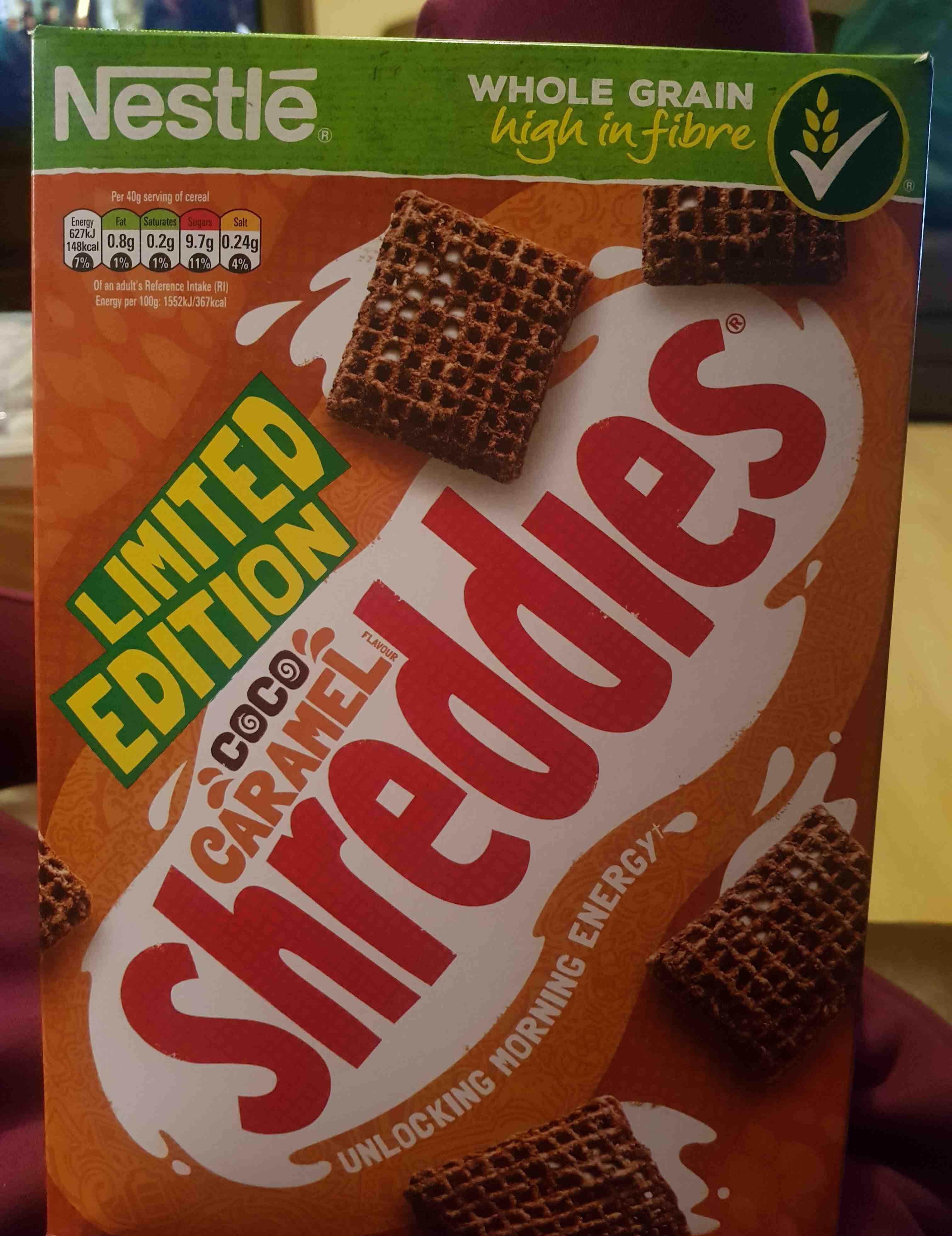 coco caramel Shreddies - Product