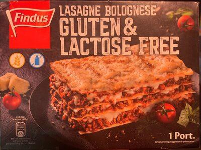 Lasagne bolognese gluten & lactose free - Produit