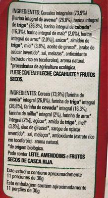Cheerios Bio - Ingrédients - fr