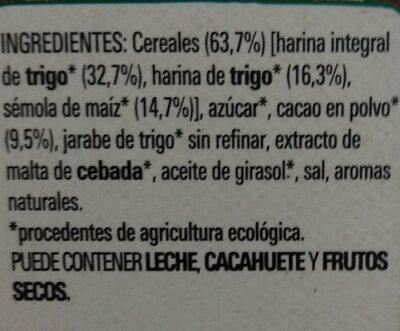 Chocapic bio - Ingredientes