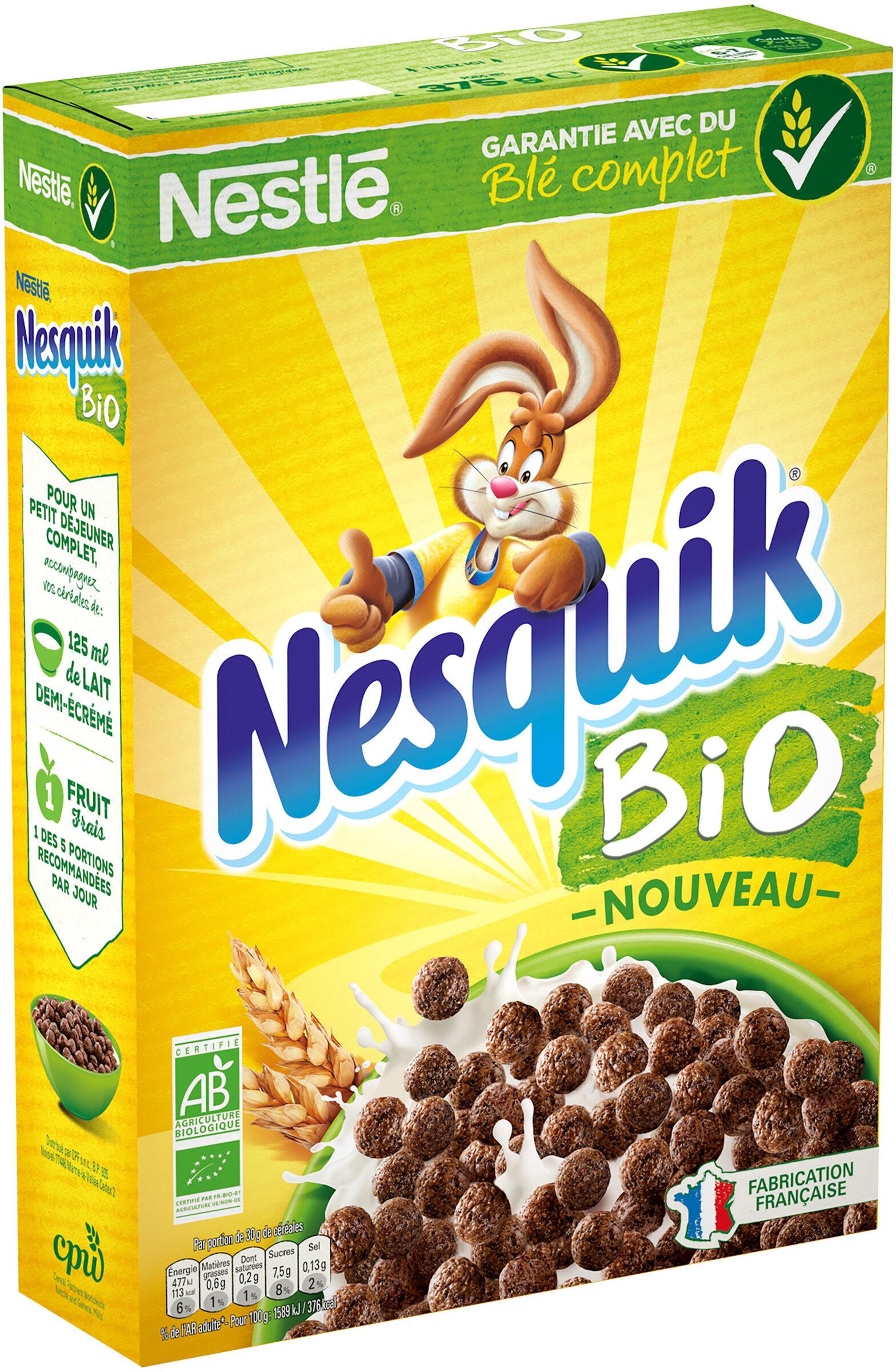 NESTLE NESQUIK BIO Céréales - Product - fr
