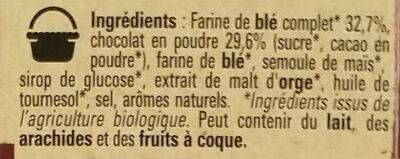 Chocapic Bio - Ingrédients - fr