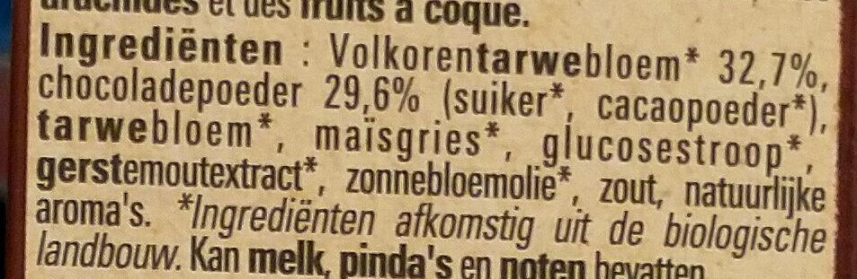 Chocapic Bio - Ingrediënten - nl