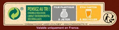 NESTLE CHOCAPIC BIO Céréales - Instruction de recyclage et/ou information d'emballage - fr