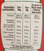 Cheerios Bio - Voedingswaarden