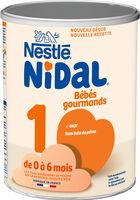 NESTLE NIDAL 1 Bébés Gourmands Lait infantile 1er âge 800g dès la Naissance - Prodotto - fr