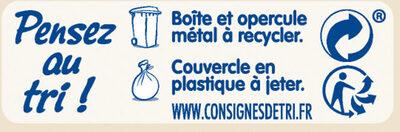 NESTLE NIDAL 1 Bébés Gourmands Lait infantile 1er âge 800g dès la Naissance - Istruzioni per il riciclaggio e/o informazioni sull'imballaggio - fr