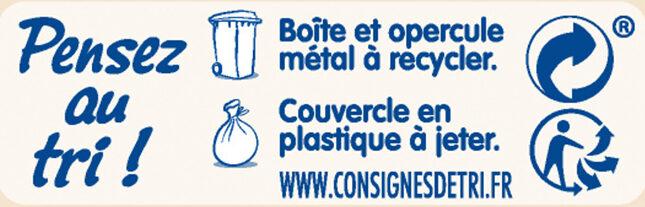 NESTLE NIDAL 2 Bébés Gourmands Lait de suite 2ème âge 800g de 6 mois à 1 an - Instruction de recyclage et/ou informations d'emballage - fr
