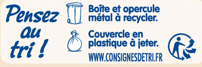 NESTLE NIDAL 3 Bébés Gourmands Lait de Croissance 800g dès 1 an - Istruzioni per il riciclaggio e/o informazioni sull'imballaggio - fr