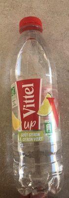 Vittel UP goût Citron Citron Vert - Produit