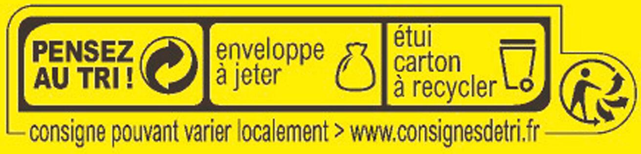 MAGGI Bouillon KUB Légumes Sel Réduit - Recyclinginstructies en / of verpakkingsinformatie - fr