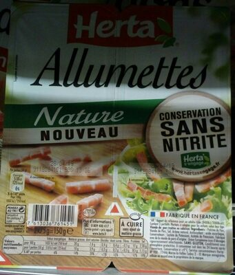 Allumettes nature - Ingredients - fr