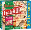 BUITONI FRAICH'UP Pizza Surgelée Royale 1800g 2+1 offerte - Produit