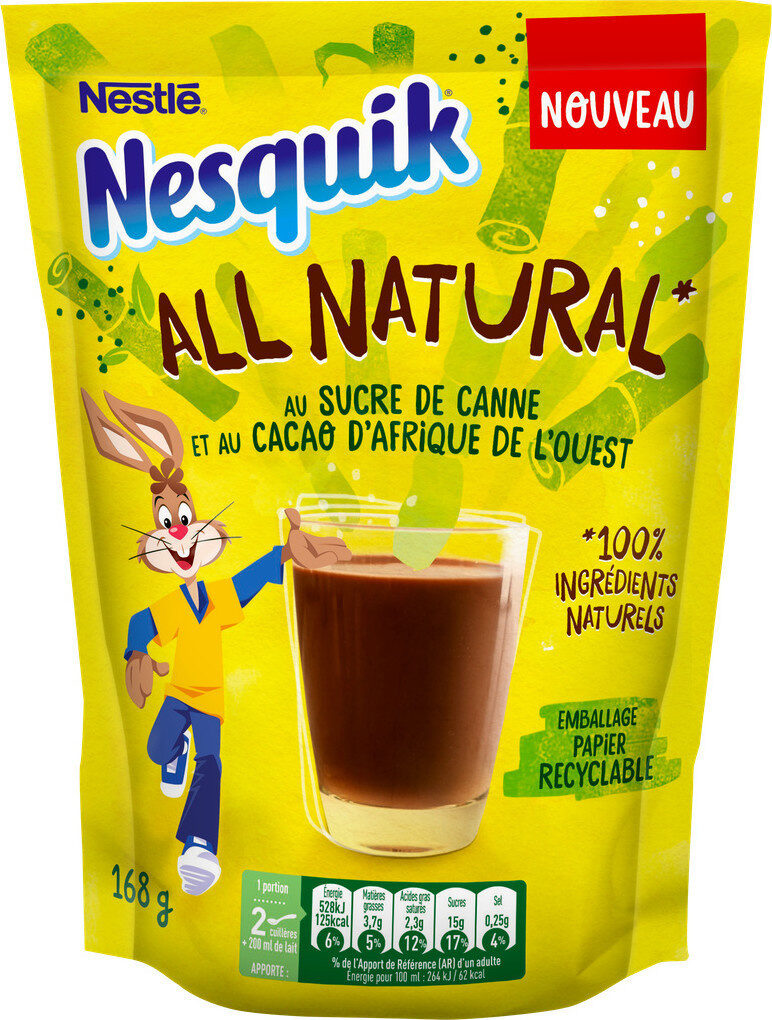 Nesquik all natural - Producto - fr