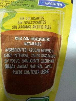 Nesquik all natural - Ingredientes - es